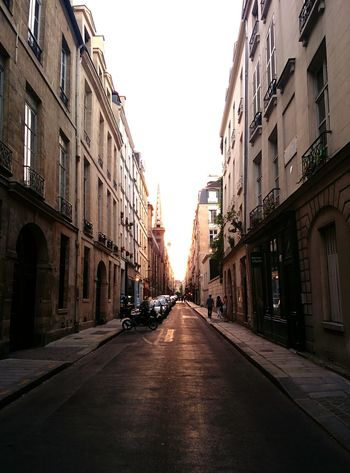 Rue Paris Street Ile Saint Louis Summertime Summer Evening Sun