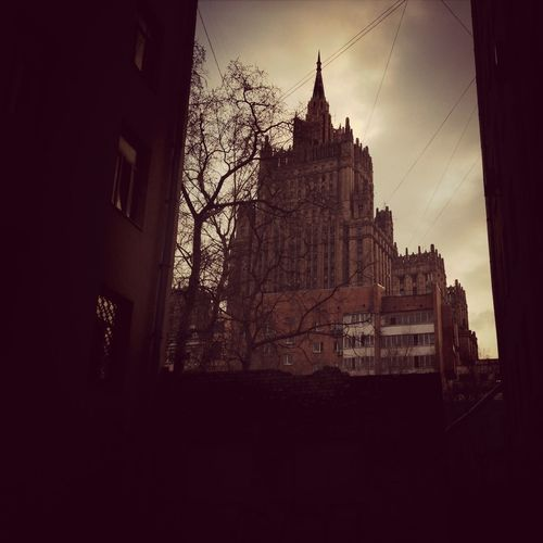Admiring The Architecture