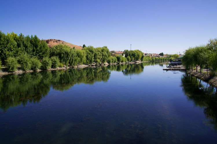 Reflection Lake Water Outdoors Clear Sky Scenics Landscape No People Nature Day Sky Tree kapadokya #capadocia ballons peribacalari Kapadokya Yeraltı şehri Avanos Kızılırmak