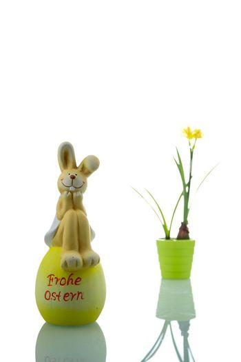 Osterkarte Grußkarte Osterkarte Osterfigur Osterfest Happy Easter Hase Frohe Ostern Ostern Osterhase Osterdeko Frühling Easter Ostereier
