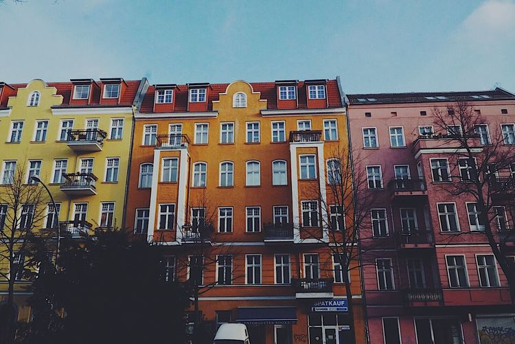 Architecture Building Exterior Built Structure Window Sky City Low Angle View House Residential Building No People Outdoors Row House Day