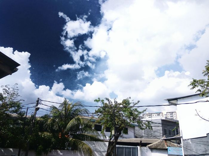 I have feel something to u~ Sky Outdoors No People Day
