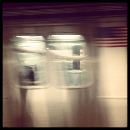 American Flag Blurred Blurred Motion Capturing Movement Metro New York Public Transportation Subway The Street Photographer - 2016 EyeEm Awards Battle Of The Cities Capturingmotion Capturing Motion