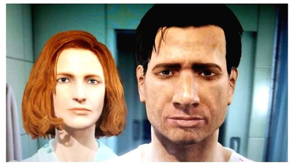 Fallout Xfiles Mulder Scully