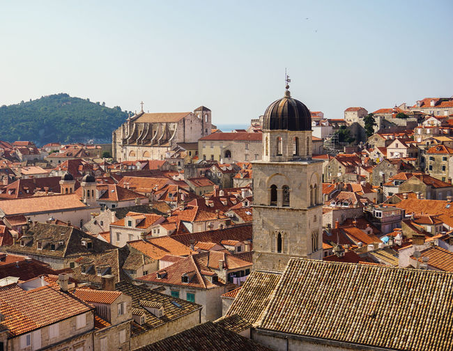 The old town of