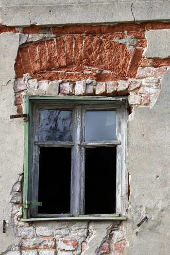 Abandoned Architecture Brick Wall Building Exterior Built Structure Damaged Day House No People Old Outdoors Window