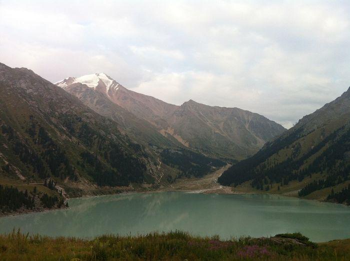 Mountains Lake Nature Kazakhstan