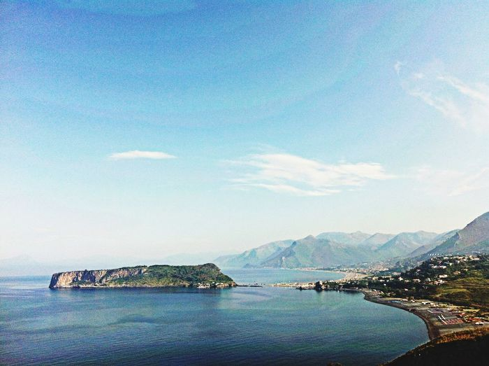Italy Calabria Sea View Island Tirreno Praia A Mare