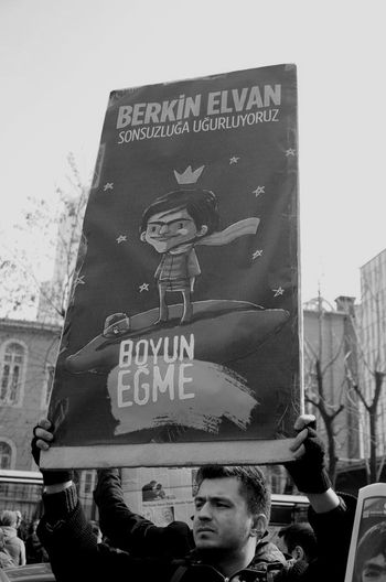 Berkin Elvan was 14. He killed by tear gas shell by the polis. He was in coma for 269 days. We lost him yesterday at the age of 15... Occupy Taksim! BerkinElvanÖlümsüzdür Blackandwhite Streetphotography