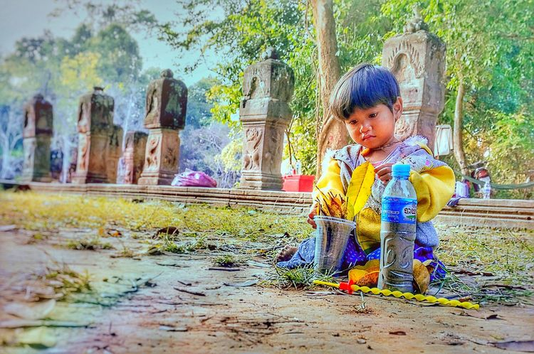Angkor Wat, Kampuchea Light And Shadow On The Road ! Photography Sonynex The Great Outdoors - 2015 EyeEm Awards Angkor Wat Traveling Sony NEX First Eyeem Photo Hello World