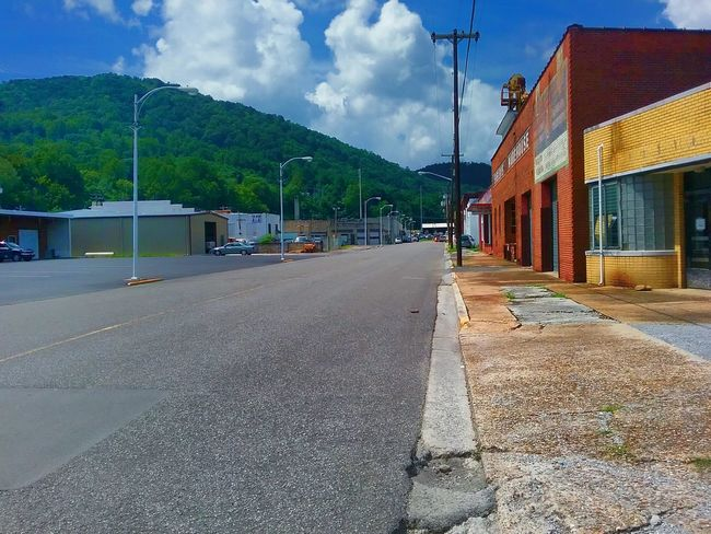La Follette Tennessee Hidden Gems  Downtown Street Shopping Stores Clouds And Sky Mountains And Sky Coulor Of Life