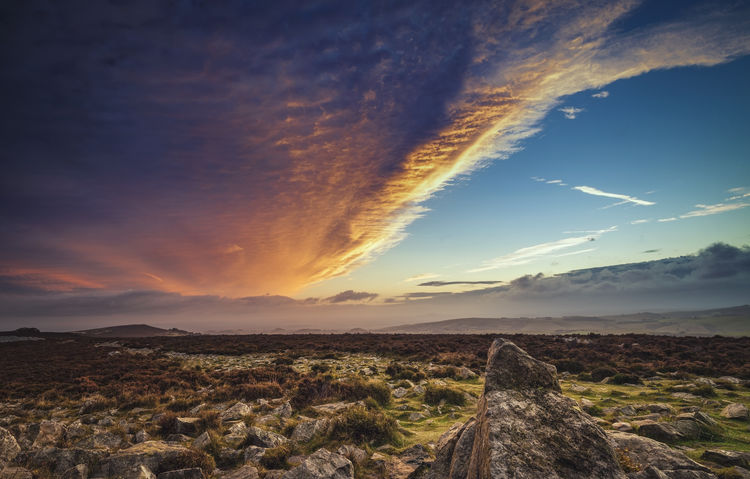 Upland Dawn Morning Morning Light Upland Beauty In Nature Cloud - Sky Dawn Dawn Of A New Day Landscape Moor  Moorland Mountain Nature No People Outdoors Scenics Shropshire Sky Stiperstones Sunrise Sunrise_sunsets_aroundworld Tranquil Scene Tranquility