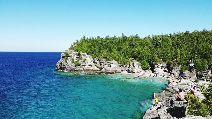 Brucepeninsula Canada Canada 150 Explore Nature Beautiful Blueskies Landscape Rocky Beach