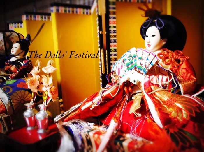 私のお雛様 お雛様 Japanese Culture Japanese Style EyeEm Japan Hello World Enjoy Life My Life Happy Time On March 3 Girls Festival Doll's Festival Peach Blossom Festival