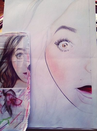 Drawing One Of My Drawings My Drawing Coloring #precious
