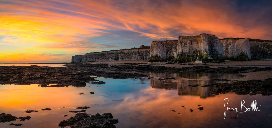 Colourful sunrise, Botany Bay Sunrise Sunrise_Collection Nature_collection Seascape Clouds And Sky Beach Photography Sony Images Kent Botany Bay Sunrise_sunsets_aroundworld Eye4photography  EyeEm Masterclass Seascape Photography Landscape_Collection Broadstairs Sony A7RII Dawn Landscape England Beach Landscape_photography Water_collection Sonyimages Sonyalpha Long Exposure