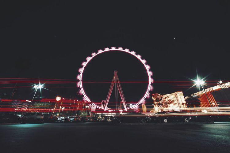 Cities At Night Las Vegas
