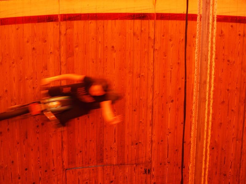 The Week On EyeEm Motorcycles Wall Of Death Blurred Motion Motion Wood - Material Indoors  No People Day Close-up
