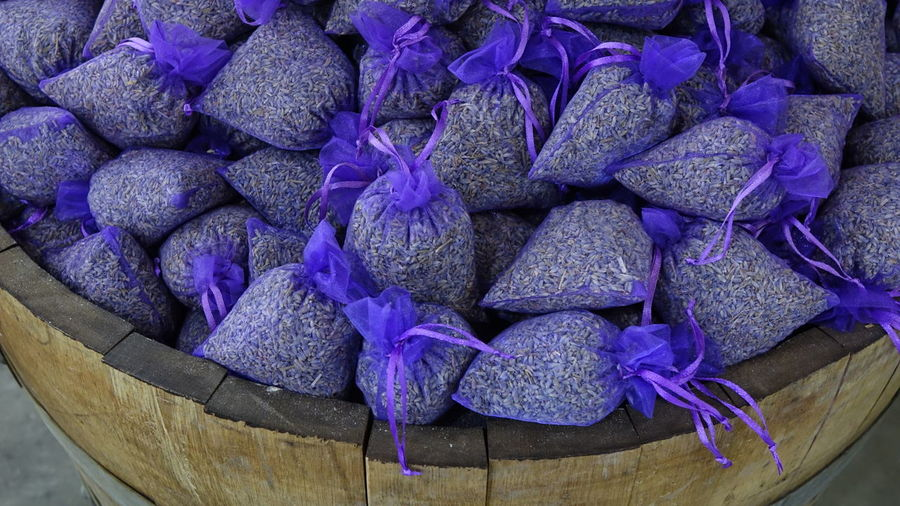Backgrounds Original Colors Colorful Design Wood - Material Wood Garden Bright No People Nofilter No Filter Bazaar Flower Purple High Angle View Close-up Lavender Display For Sale Window Display Shop Lavender Colored Market Stall Farmer Market Market Raw Stall Retail Display Price Tag