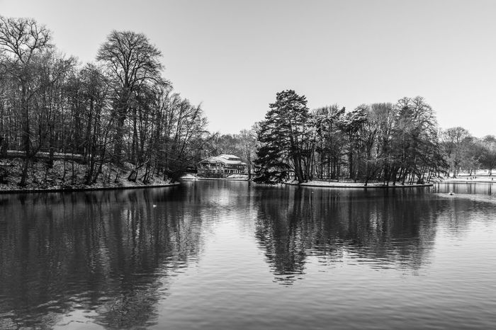 Bois De La Cambre Canon Canon_photos Canonphotography Chalet Robinson Day Lake Nature No People Outdoors Reflection Sky Tranquility Tree Vacations Water