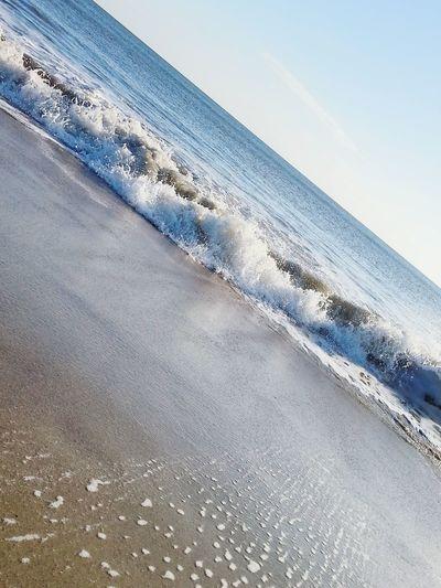 Beach Beachphotography Life Is A Beach On The Beach Saltlife Oakisland Myworld Atlantic Ocean Coastal Carolina Beach Life Simplicity Sunset #sun #clouds #skylovers #sky #nature #beautifulinnature #naturalbeauty #photography #landscape Ocean Sea Sea View