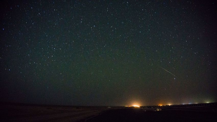 Meteor Shower Night Star - Space Astronomy Beauty In Nature Scenics Nature Tranquil Scene