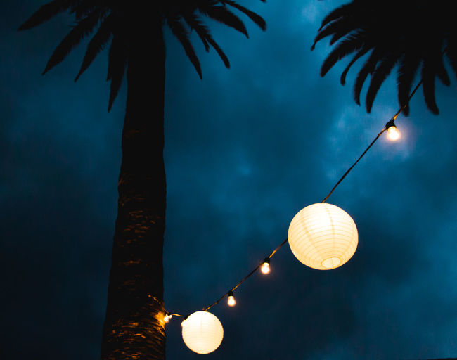 Celebration Cloud - Sky Decor Decoration Electric Lamp Electric Light Glowing High Section Illuminated Light Lighting Equipment Low Angle View Nature Night No People Outdoors Sky Sphere Tree Showcase June VSCO