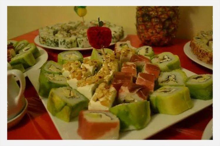 Sushi Enjoying Life