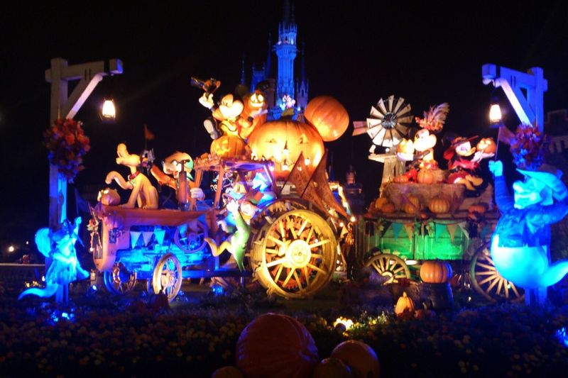Tokyo Disney Land Halloween Night Lights Night Photography Nightphotography Night 30th 30th Anniversary