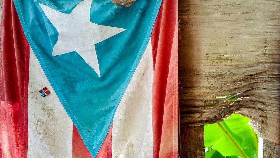 Multi Colored Flag Close-up Puerto Rico Meanwhile In Puerto Rico... Caribbean Life Patria Boricua La Monoestrellada Desde El Campo Vida Campesina Orgullo