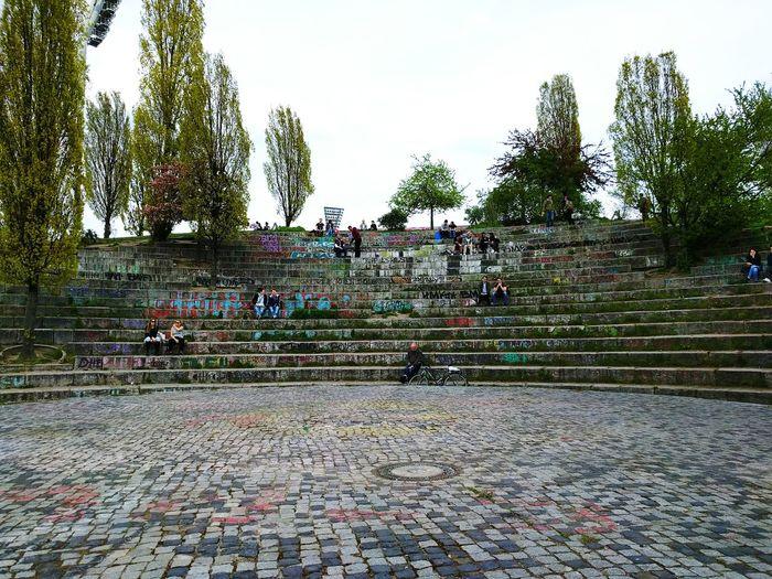 Ruhe Vor Dem Sturm Mauerpark Walpurgisnacht 2016