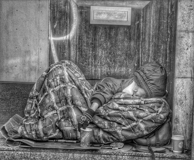 I have take a photograph of this guy before . This is a better photo it shows how he lives Taking Photos Check This Out Homeless EyeEmBestPics The Human Condition Eye4photography  B&w Street Photography Check This Out Showcase: November HDR Hdr_Collection Popular Photos B&W Portrait Picturing Individuality Streetphotography Blackandwhite Black And White Photography Monochrome EyeEm Black&white! Portrait Monochrome _ Collection People Of Manchester Eyeem People + Portrait Homeless Of Manchester Uk Streetphoto_bw