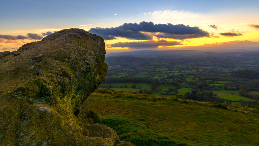 Vivid sunset Malvern Hills Sunset_collection Beauty In Nature Cloud - Sky Environment Green Color Idyllic Land Landscape Mountain Mountain Range Nature No People Non-urban Scene Outdoors Plant Remote Scenics - Nature Sky Sunset Tranquil Scene Tranquility