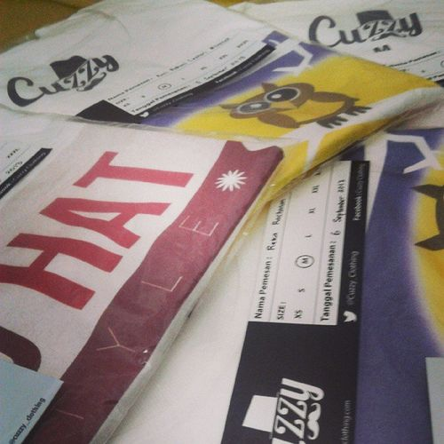 Ready to sent! :D Cuzzy_Clothing cc : (@cuzzy_clothing)