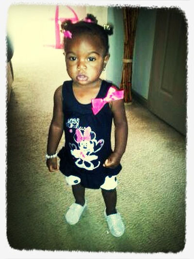 My Young Girl Swagg On A Bean!