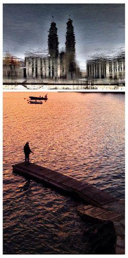 Photography Waves Reflection Fakeormistake Landscape People