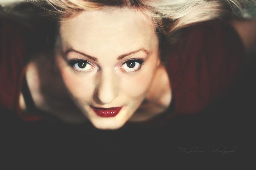 Beautiful Cute Eye EyeEm Headshot Lifestyles Love Magdalena Teterdynko Portrait Woman Woman Portrait