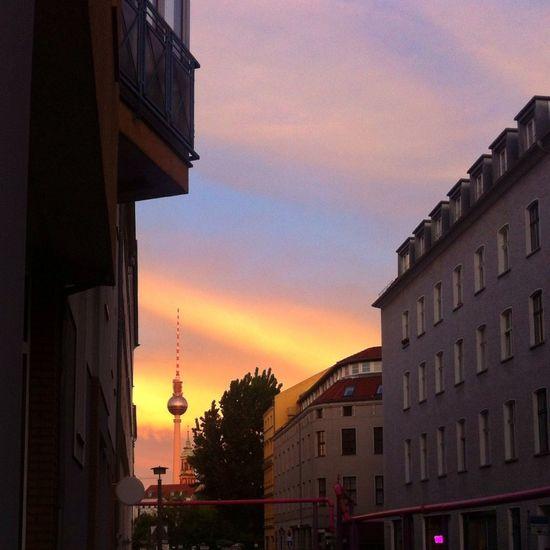 TV Tower. A fave forever. Berlin TV Tower Fernsehturm Sunset