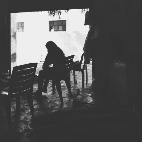 IPhone Iphpnegraphy Iphoneonly Shotoniphone6splus Perspective Perspectives From My Point Of View Streetphotography Streetphoto_bw Street Photography Blackandwhite Black & White Blackandwhite Photography Life Life In Motion Working Hard Work In Progress A lady supervisor at her work.