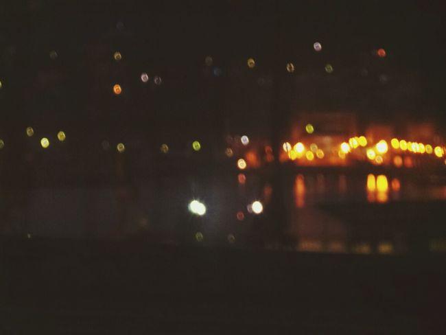Early Morning Bokeh Lights