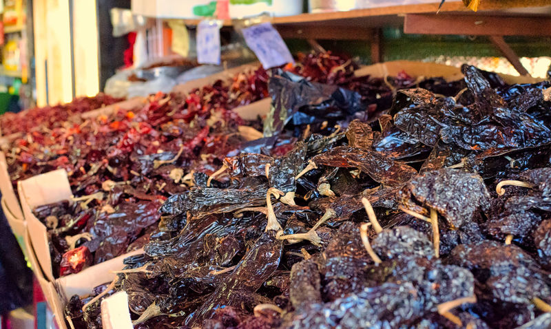 Chiles Close-up Dry Spices Hot Spices Market No People Spices Spices Food