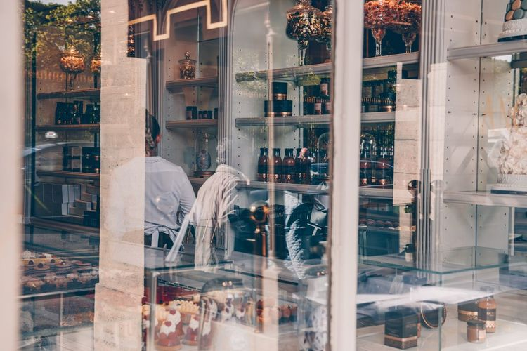 Street Paris Glass - Material Business Store Bottle Retail  Retail Display Transparent Food And Drink Store Window Drink Restaurant City Window Reflection First Eyeem Photo The Street Photographer - 2018 EyeEm Awards