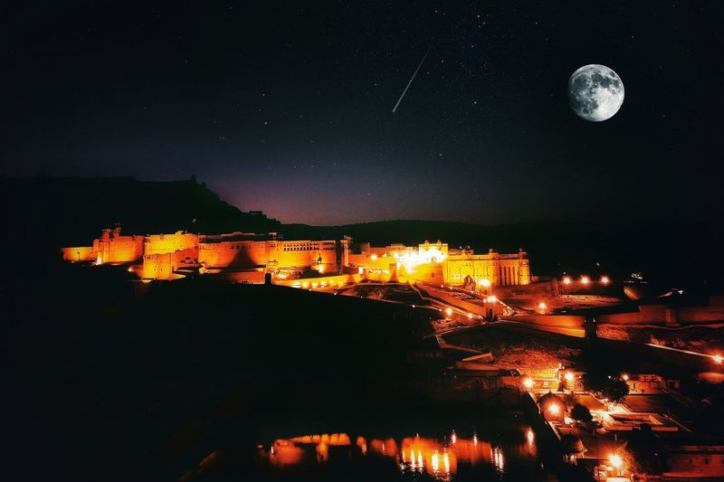 The desire to know your own soul will end all the other desires. EyeEmNewHere Night Moon Star - Space Full Moon Space And Astronomy Astronomy Sky Space Planet - Space Illuminated Moonlight Outdoors Landscape Constellation Clear Sky Nature Mountain Milky Way Jaipur Jaipur Rajasthan Amer Fort Amber Fort Rajasthan Rajasthan Jaipur Perspectives On Nature Postcode Postcards Rethink Things