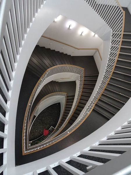 Staircase Spiral Architecture Steps Steps And Staircases Built Structure Railing Spiral Staircase No People Modern My Year My View Museum Of Contemporary Art Chicago Architecture_collection The World Needs More Spiral Staircases Best Of Stairways Stairs_collection Stairways Stairs Light And Shadow Geometric Abstraction Geometry Geometric Shapes Geometric Shape Chicago Chicago Photographer