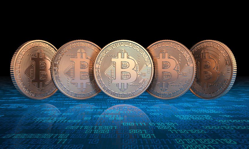 Bitcoin Blockchain Cryptocurrency Ethereum Gold Network EOS Dash Ripple 3D Rendering Render Chain Concept Finance Financial Business Digital Internet Exchange Electronic Crypto Currency Money Virtual Economy Coin Symbol Cryptography Litecoin Golden E-commerce Crypto-currency Bit-coin Technology Cyberspace Altcoins