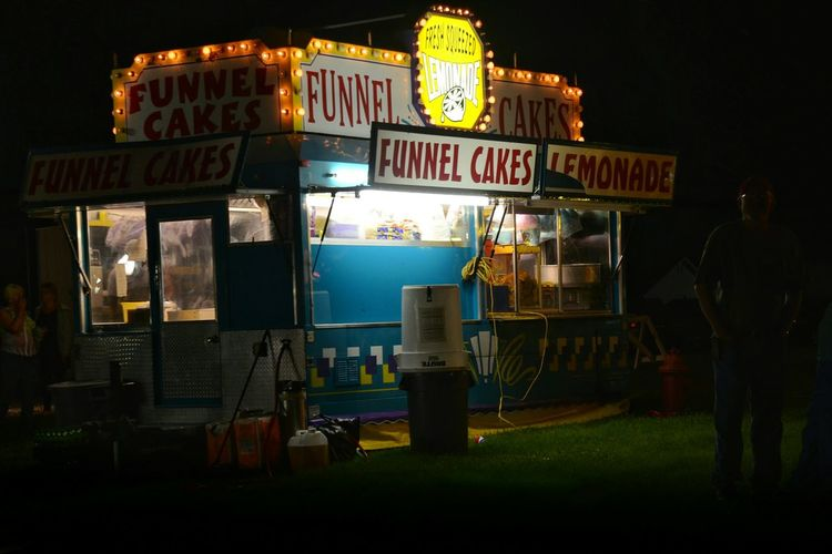 Strauben American Life Funnel Cake Small Town USA Carnival Night Photography Light In The Darkness Food Fireworks Check This Out Nighttime Lights