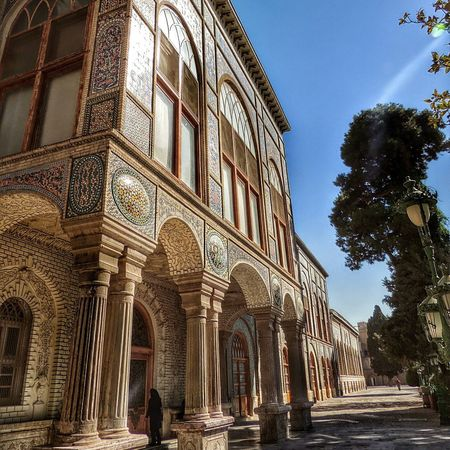 Teheran iran Architecture Built Structure Low Angle View Arch Day Building Exterior Outdoors Clear Sky Sky City No People Tree