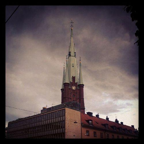 Church Churchtower Stockholm Klarabergsgatan sweden building houses city