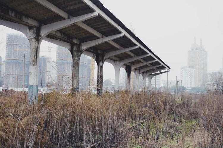 Station Abandoned Places Abandoned Built Structure Architecture Building Exterior Plant Building City Outdoors Growth Landscape