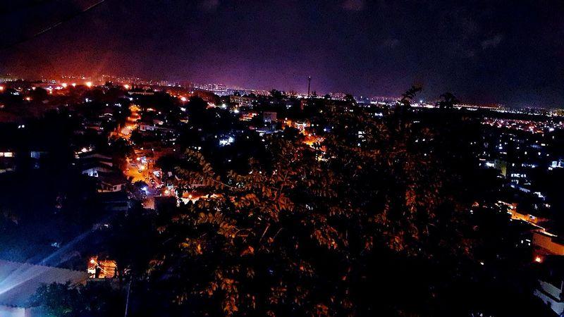 The Night in Rio Rio De Janeiro Jacarepagua Saulo Valley Mirante City Lights Urbanphotography